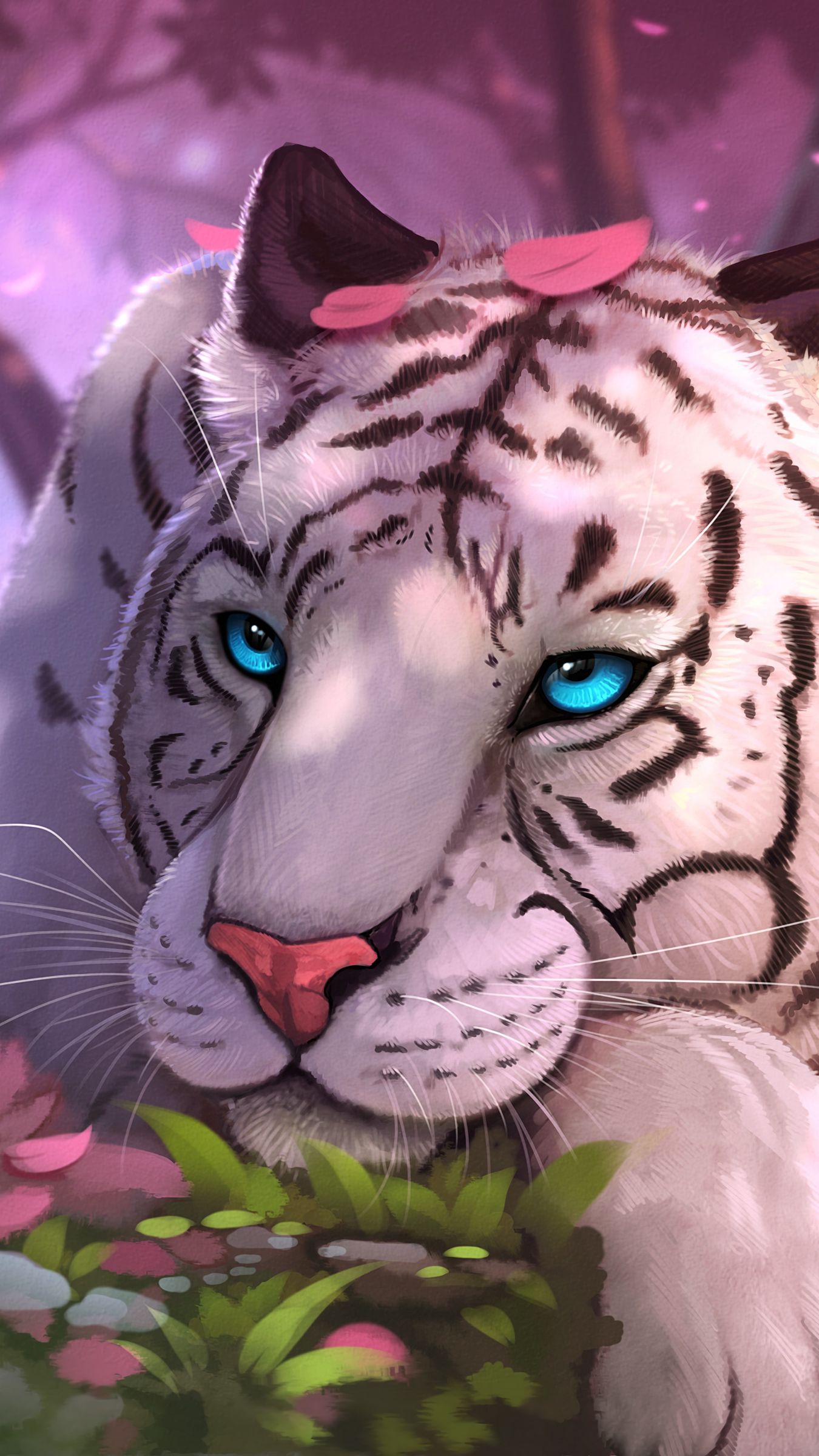 Get Plus 25 3D Tiger Wallpaper For Mobile Apple Free Download