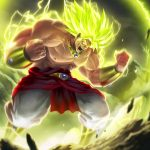 Get a Beautiful DBS Broly Wallpaper Full HD Right Away For Your Phone
